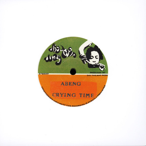 Abeng / Russ D - Crying Time / All My Tears Dub