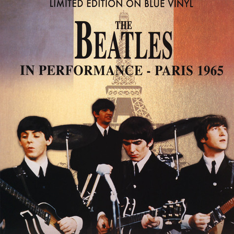 Beatles, The - In Performance - Paris 1965 Blue Vinyl Edition