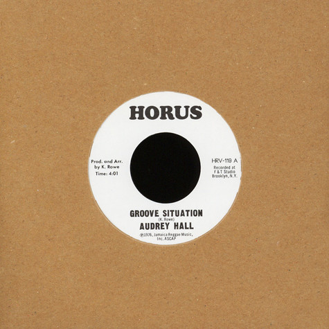 Audrey Hall - Groove Situation