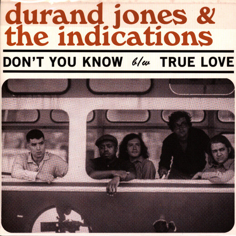 Durand Jones & The Indications - Don't You Know HHV EU Exclusive Transparent Baby Blue Vinyl Edition