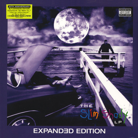 Eminem - The Slim Shady LP 20th Anniversary Expanded Edition