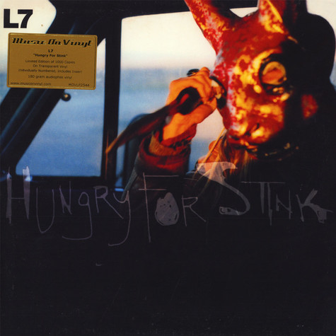L7 - Hungry For Stink Coloured Vinyl Edition