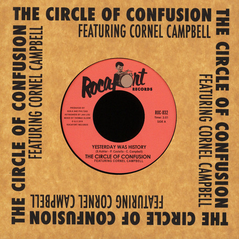 Circle Of Confusion, The - Yesterday Was History / Yesterday Was History (Tcoc Yesterdub Mix)