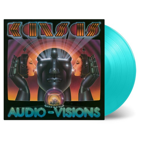 Kansas - Audio-Visions Limited Numbered Turquoise Vinyl Edition