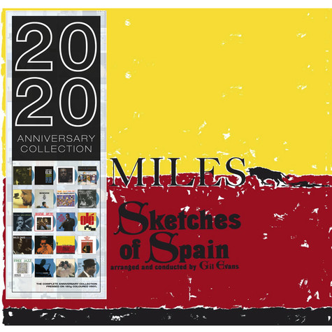 Miles Davis - Sketches Of Spain Blue Vinyl Edition