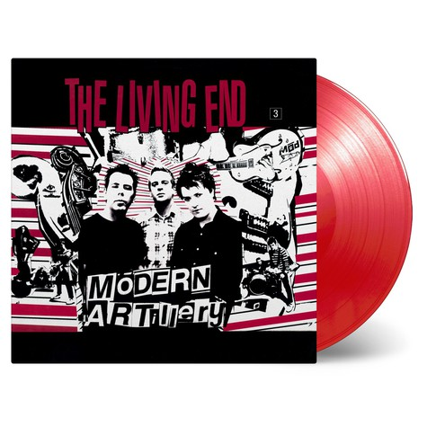 Living End - Modern Artillery Limited Numbered Red Vinyl Edition