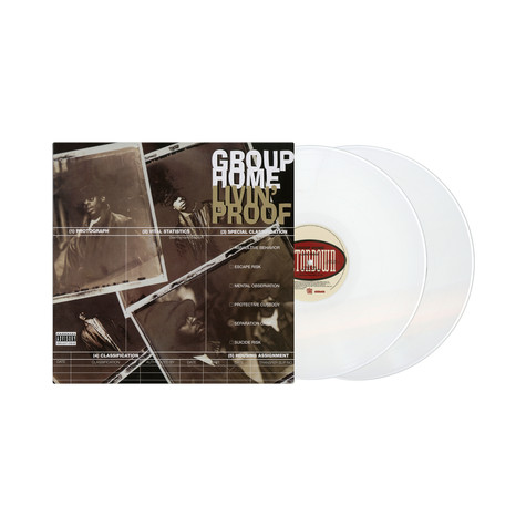 Group Home - Livin' Proof 25th Anniversary Get On Down x HHV White Vinyl Edition