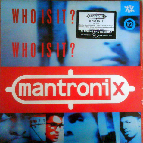 Mantronix - Who Is It?