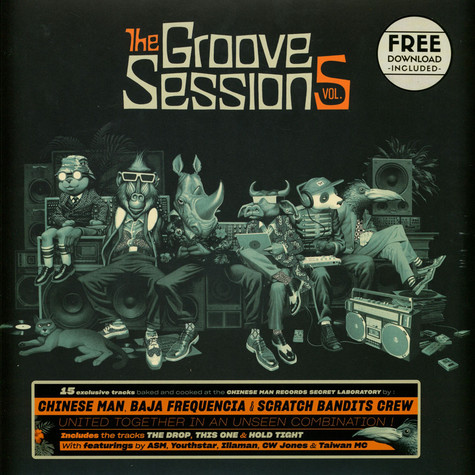Chinese Man - The Groove Sessions Volume 5