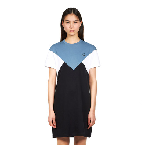 Fred Perry - Chevron T-Shirt Dress