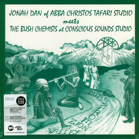 Jonah Dan - Meets The Bush Chemists: Dubs From Zion Valley