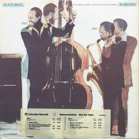The Heath Brothers + Brass Choir - In Motion