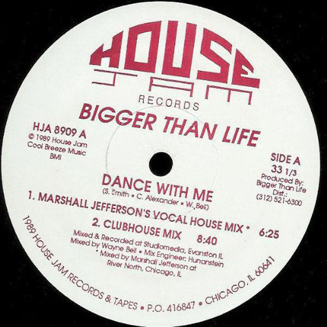 Bigger Than Life - Dance With Me