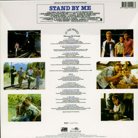 V.A. - OST Stand By Me Limited Numbered Blue Vinyl Edition