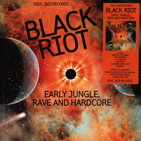 V.A. - Black Riot: Early Jungle, Rave And Hardcore
