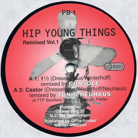 Hip Young Things - Remixed Vol. 1