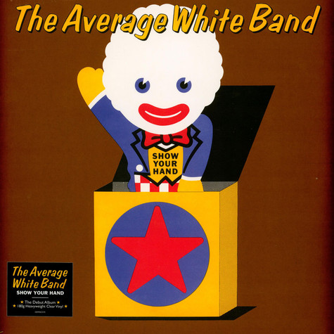Average White Band - Show Your Hand Clear Vinyl Edition