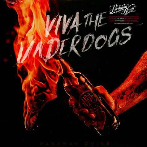 Parkway Drive - Viva The Underdogs Red Vinyl Edition