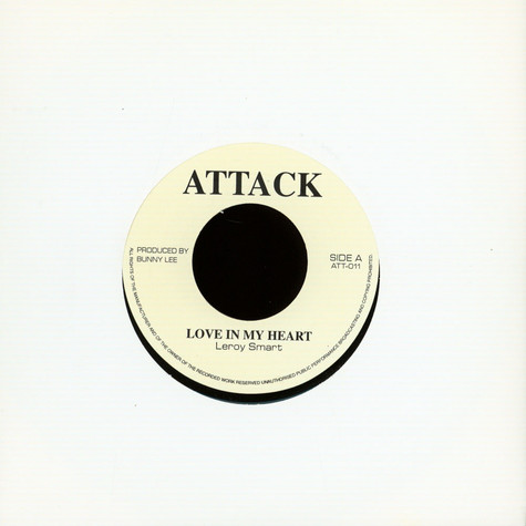 Leroy Smart - Love In My Heart / Version