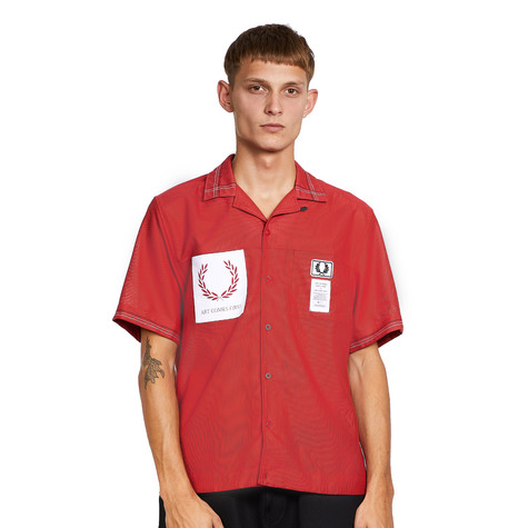 Fred Perry x Art Comes First - Revere Collar Bowling Shirt