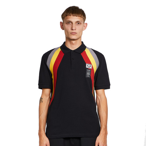 Fred Perry x Art Comes First - Diagonal Rib Polo Shirt
