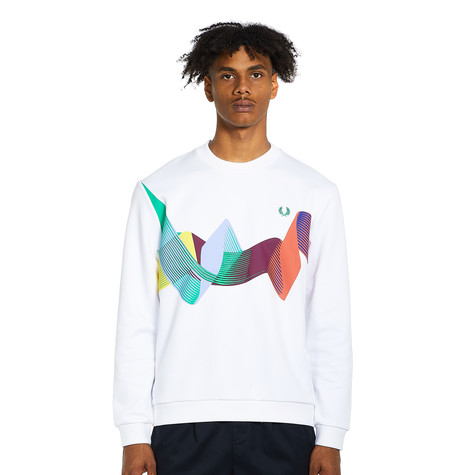 Fred Perry - Abstract Sport Sweatshirt