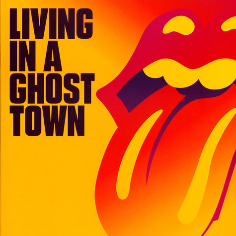 Rolling Stones, The - Living In A Ghost Town Orange Vinyl Edition