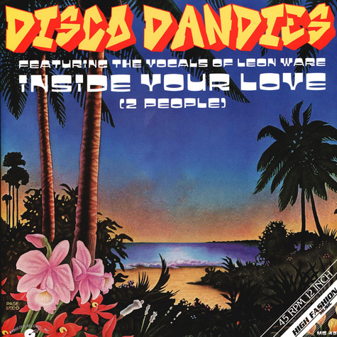 Disco Dandies - Inside Your Love (2 People)