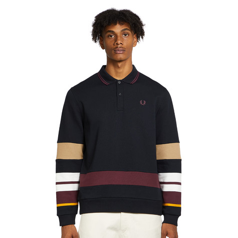 Fred Perry - Striped Sleeve Polo Shirt