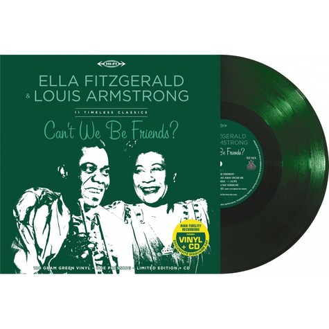 Ella & Louis Fitzgerald - Very Best Of Green Record Store Day 2020 Edition