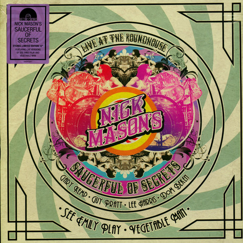 Nick Mason's Saucerful Of Secrets - See Emily Play / Vegetable Man Record Store Day 2020 Edition