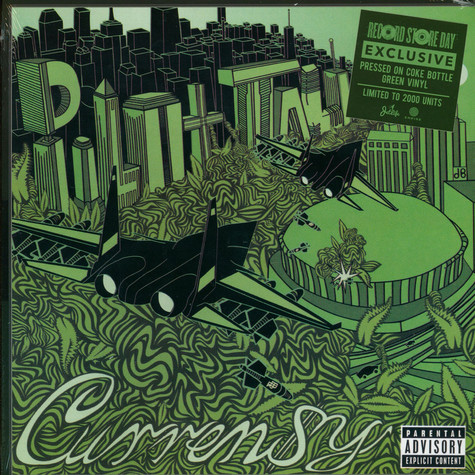 Curren$y - Pilot Talk Coke Bottle Green Record Store Day 2020 Edition