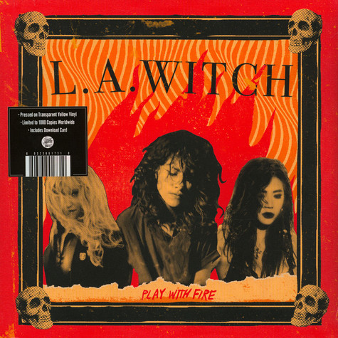 L.A. Witch - Play With Fire Transculent Vinyl Ediiton