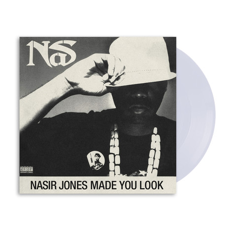 Nas - Made You Look HHV Exclusive Crystal Clear Vinyl Edition