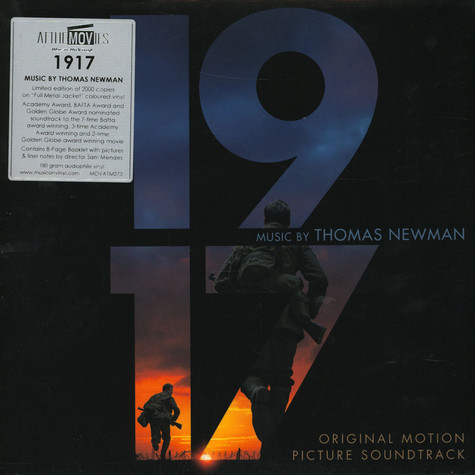 Thomas Newman - OST 1917 Flame Green & Silver Swirled Vinyl Edition