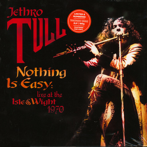 Jethro Tull - Nothing Is Easy - Live At The Isle Of Wight 1970 Record Store Day 2020 Edition