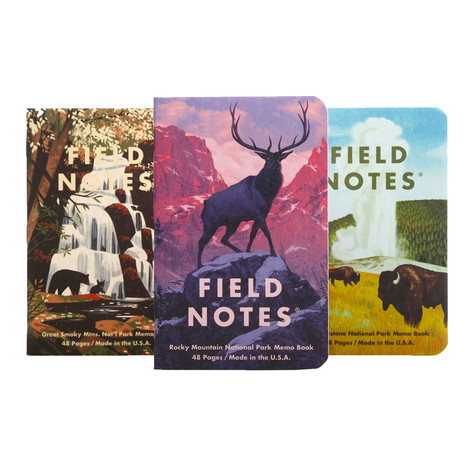 Field Notes - National Parks C 3-Pack