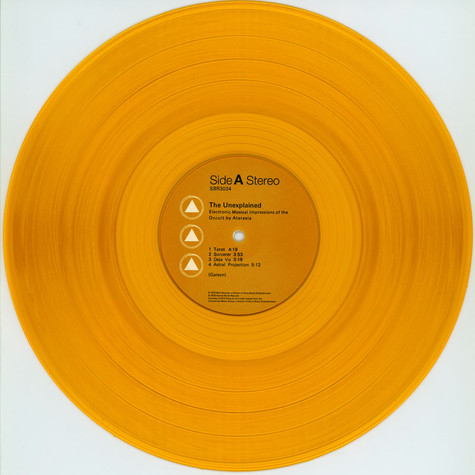 Ataraxia (Mort Garson) - The Unexplained Orange Vinyl Edition