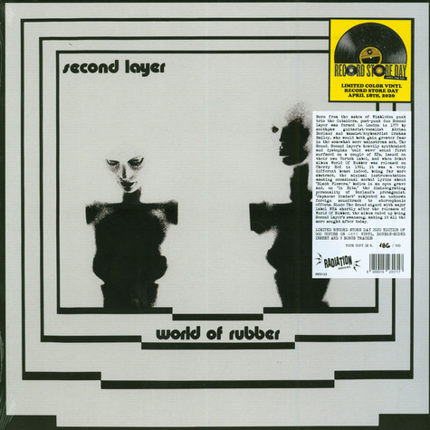 Second Layer - World Of Rubber Grey Vinyl Edition Record Store Day 2020 Edition