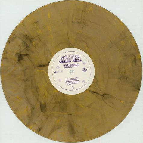 Tilman - One For The Trouble EP Brown & Gold Marbled Vinyl Edition