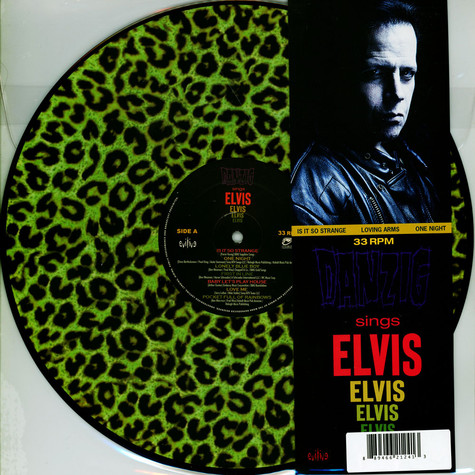 Danzig - Sings Elvis - A Gorgeous Green Leopard Picture Edition