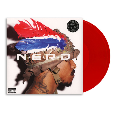 N.E.R.D. - Nothing HHV EU Exclusive Red Vinyl Edition