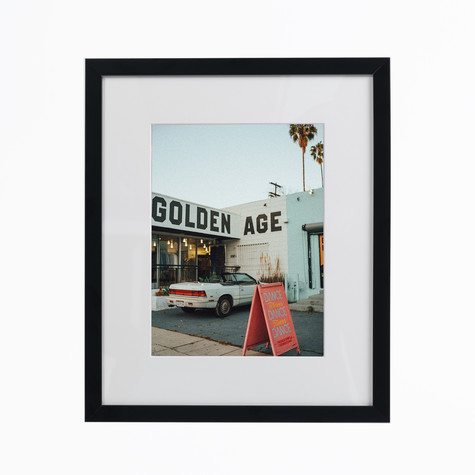 HHV Click Clique x Tom Doolie - Golden Age Photo Print (framed) / (gerahmt)