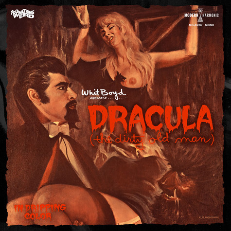 Whit Boyd Combo, The - OST Dracula (The Dirty Old Man) Original Motion Picture Soundtrack Red Vinyl Edition