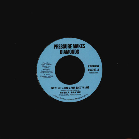 Freda Payne - We've Gotta Find A Way Back To Love / Two Wrongs Don't Make A Right