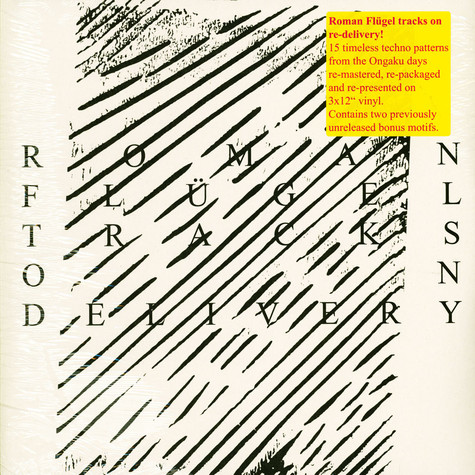 Roman Flügel - Tracks On Delivery Remastered Edition