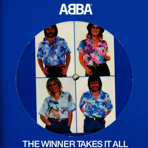 ABBA - The Winner Takes It All Limited Picture Disc Edition
