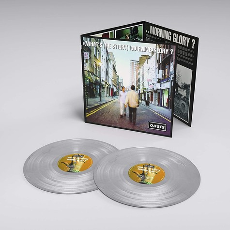 Oasis - (What's The Story) Morning Glory? Limited Numbered Silver Vinyl Edition