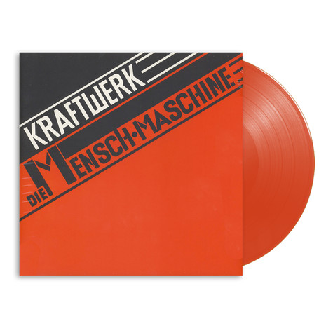 Kraftwerk - Die Mensch-Maschine German Version Translucent Red Vinyl Edition
