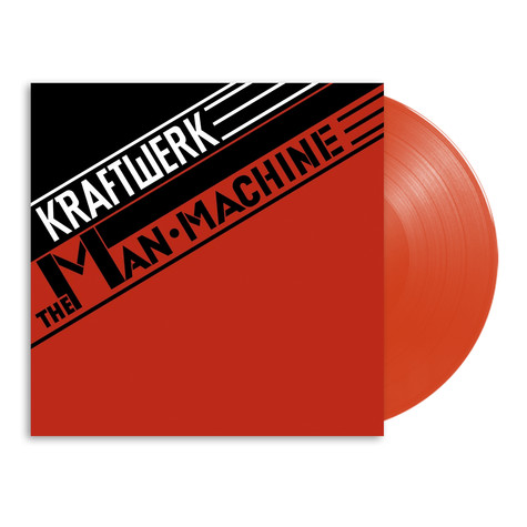 Kraftwerk - The Man-Machine English Version Translucent Red Vinyl Edition